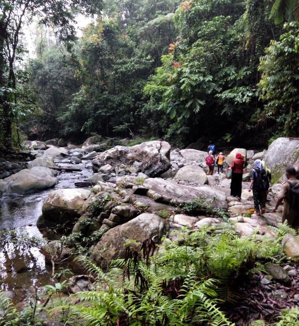 Air Terjun Rampah Tumaung Destinasi Wisata Alam Alternatif Borneo Destinasi Travel Indonesia