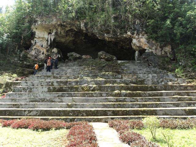 Situs Purbakala Suku Muna Gua Liang Kobori Sulawesi Tenggara